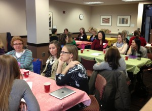 Participants in the Conversations with Women in Leadership series