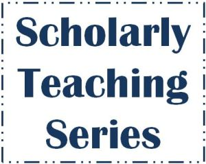 Scholarly Teaching Series Logo